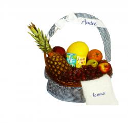 Cesta de frutas do Papai